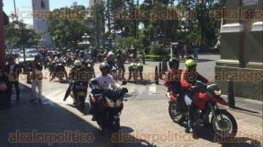 Córdoba, Ver., 22 de octubre de 2017.- 650 bikers participaron en el Décimo Encuentro de Motociclistas, que concluyó este domingo, dejando una derrama económica por cerca de un millón de pesos para prestadores de servicios y comercios.