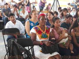 Cuitláhuac, Ver., 17 de noviembre de 2017.- Afrodescendientes en México inauguraron el XVIII Encuentro de Pueblos Negros.