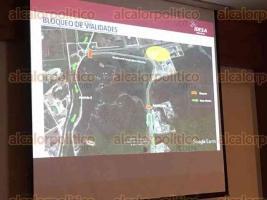 Coatzacoalcos, Ver., 22 de noviembre de 2017.- Iniciará a las 10:00 horas, por lo que el bulevar Cangrejera-Morelos estará cerrado a la circulación durante 30 minutos.