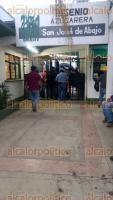 """Cuitláhuac, Ver., 22 de noviembre de 2017.- Cañeros tomaron el ingenio """"San José de Abajo"""" desde las 6:00 horas de este miércoles; después de 6 horas de protesta lograron que la empresa pague el remanente de la zafra 2016/2017."""