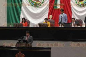 Xalapa, Ver., 23 de noviembre de 2017.- En el Congreso del Estado, en la sesión ordinaria, el diputado Nicolás de la Cruz presentó la iniciativa para la Atención del Cuidado Infantil.