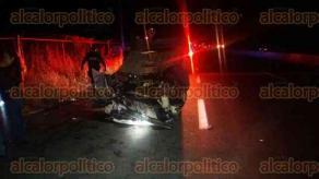 Xalapa, Ver., 11 de diciembre de 2017.- La noche de este lunes un vehículo volcó sobre la carretera Xalapa-Veracruz, frente al Agrocentro. Al parecer el conductor circulaba a velocidad inmoderada, no se reportan lesionados.
