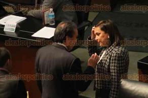Ciudad de México, 14 de diciembre de 2017.- En el Senado, los legisladores discuten la Ley de Seguridad Interior, aprobada ayer miércoles en las comisiones unidas, la oposición presenta sus argumentos en contra y reservan artículos para su discusión.