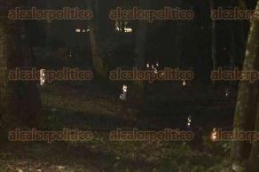"""Xalapa, Ver., 15 de diciembre de 2017.- En el jardín del Museo Interactivo de Xalapa, se realiza la Ruta Escénica Navideña """"Por el sendero de la Estrella"""", del 15 al 23 de diciembre."""