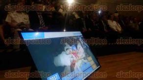 Boca del Río, Ver., 15 de enero de 2018.- Acudieron funcionarios de la Secretaría de Salud en el Estado y el gobernador Miguel Ángel Yunes Linares a la presentación del Programa de Salud 2018, en el Foro Boca.