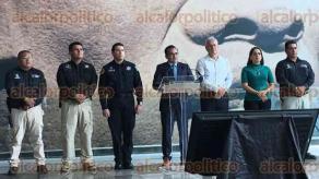 Veracruz, Ver., 18 de enero de 2018.- El fiscal general, Jorge Winckler Ortiz, negó que hayan incrementado los secuestros en la entidad y dijo que las cifras que presentó Isabel Miranda de Wallace, de la asociación Alto al Secuestro, son falsas.
