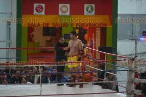 Xalapa, Ver., 20 enero 2018.- La tarde de este sábado, se desarrolló la final del torneo Muay Thai Babylon IV, en el MIX.