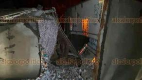 Maltrata, Ver., 21 de enero de 2018.- Accidente carretero a las 23:30 horas de este sábado en la autopista Puebla-Mendoza.