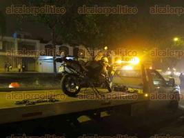 Xalapa, Ver., 21 de enero de 2018.- El punto de revisión de alcoholimetría fue instalado sobre la avenida Maestros Veracruzanos casi esquina con la calle Xalapa.