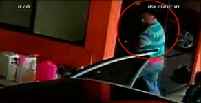 Xalapa, Ver., 21 de enero de 2018.- Autoridades también difundieron un video del momento en que cuatro personas son ejecutadas en un lavado de autos por 8 hombres armados, en Amatlán de los Reyes, el pasado viernes.