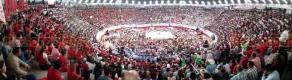 Orizaba, Ver., 17 de febrero de 2018.- En la Convención de Delegados del PRI, a la que asistieron alrededor de 10 mil personas, Enrique Ochoa Reza, líder Nacional del PRI, le tomó protesta a Pepe Yunes como candidato a gobernador del Estado.