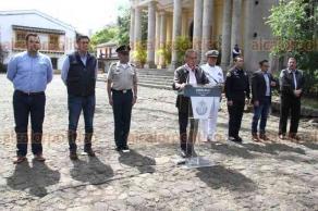 Xalapa, Ver., 17 febrero 2018.- Tras reunirse con el Grupo de Coordinación Veracruz, el gobernador Miguel Ángel Yunes Linares ofreció conferencia de prensa.