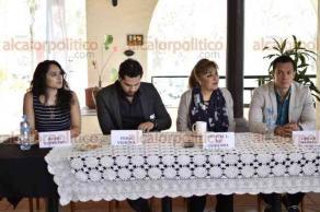 """Xalapa, Ver., 22 de febrero de 2018.- En conferencia de prensa, organizadores invitan al musical """"La Conquista"""", en la sala """"Emilio Carballido"""", del Teatro del Estado, este sábado 10 de marzo a las 17:00 y 20:30 horas."""