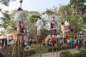"""Papantla, Ver., 16 de marzo de 2018.- El Festival """"Cumbre Tajín, el brillo de la memoria"""", inició este viernes con gran cantidad de actividades para todas las edades; las ceremonias dancísticas llamaron la atención de visitantes."""