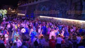 """Papantla, Ver., 16 de marzo de 2018.- El alcalde Mariano Romero inauguró el evento """"Papantla Brilla"""", como parte de los eventos de Cumbre Tajín 2018. A lo largo de cuatro días se tendrán diversas presentaciones artísticas y culturales."""