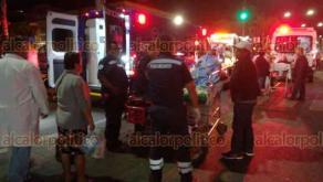 Córdoba, Ver., 19 de marzo de 2018.- Por incendio en el nosocomio evacuaron a pacientes y personal médico de todo el primer piso de la Clínica número 8 del IMSS.