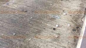Xalapa, Ver., Se registró alrededor de las 14:30 horas, luego de que lo previera Protección Civil