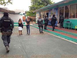 """Coatzacoalcos, Ver., 23 de marzo de 2018.- En el jardín de niños """"Benjamín Rodríguez Sagrero"""" por tercera vez se metieron a robar."""