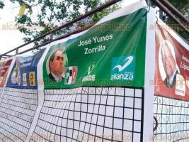 Xalapa, Ver., 18 de abril de 2018.- Sin una metodología, sin restricciones y sin valor estadístico, ciudadanos participan en un