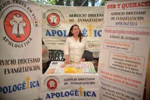 Xalapa, Ver., 21 de abril de 2018.- Inaugura el arzobispo Hipólito Reyes Larios la