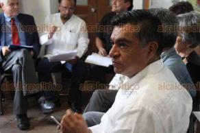 Xalapa, Ver., 23 de abril de 2018.- En el museo Casa Xalapa, se presentó el Coloquio Interinstitucional sobre el Desarrollo de Xalapa, con la asistencia del alcalde Hipólito Rodríguez.