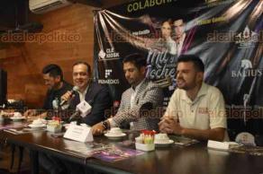 """Xalapa, Ver., 25 de abril de 2018.- En conferencia de prensa, organizadores invitan al musical """"Las mil y una noches"""", a realizarse este 18 de mayo a las 21:00 horas, en la Sala"""