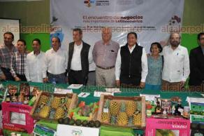 Xalapa, Ver., 25 de mayo de 2018.- En la Delegación de la SAGARPA se presentó el evento