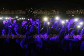 Veracruz, Ver., 27 de mayo de 2018.- El cantante colombiano Maluma ofreció un concierto en el estadio Luis