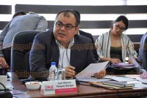 Xalapa, Ver., 19 de julio de 2018.- En sesi�n del Organismo P�blico Local Electoral, se entreg� el informe final del monitoreo de medios de comunicaci�n por el proceso electoral pasado y se aprob� el informe trimestral financiero.