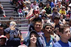 Ciudad de M�xico, 21 de julio de 2018.- El Gobierno de la CDMX y la Secretar�a de Cultura capitalina declararon a la Lucha Libre como Patrimonio Cultural Intangible de la Ciudad de M�xico.