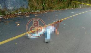 Tenochtitlán, Ver., 15 de agosto de 2018.- Un taxista de Misantla fue ejecutado en la comunidad Cerro Verde; el lugar fue sitiado por policías y personal de la Fiscalía General del Estado.