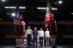 """Xalapa, Ver., 17 de agosto de 2018.- En el teatro """"J. J. Herrera"""