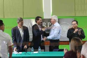 Xalapa, Ver., 20 de agosto de 2018.- Por tercera ocasión, Octavio Legarreta Guerrero asumió la Delegación de la Secretaría de Agricultura, Ganadería, Desarrollo Rural, Pesca y Alimentación, en sustitución de Genaro Ruiz Arriaga, quien llegó al cargo apenas en febrero pasado.