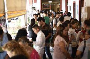 Xalapa, Ver., 20 de septiembre de 2018.- Con la presencia de productores locales, se efectuó la Feria Universitaria de Sustentabilidad Expo Sustenta 2018, de la UV, a través de la Coordinación Universitaria para la Sustentabilidad (COSUSTENTA).