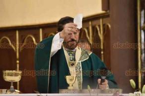 Xalapa, Ver., 23 de septiembre de 2018.- En misa de este domingo invitaron a participar en el Día de la Caridad, el próximo sábado 29, de 9:00 a 21:00 horas.