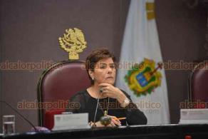 Xalapa, Ver., 16 de octubre de 2018.- La LXIV Legislatura en su recta final, concluye funciones el próximo 4 de noviembre. Este martes sesionó la Diputación Permanente.