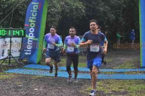 """Xalapa, Ver., 21 de octubre de 2018.- En punto de las 8:00 horas inició la """"Carrera Verde INECOL 2018"""" en su novena edición en el Bosque de Niebla con las categorías de 4.6 km y 9.2 km, con gran participación de corredores."""