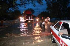 Álamo Temapache, Ver., 21 de octubre de 2018.- Las lluvias torrenciales registradas en las últimas horas, han traído como consecuencia una inundación severa en el municipio.