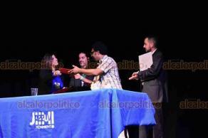 """Xalapa, Ver., 22 de octubre de 2018.- Este lunes se inauguró el Primer Congreso de Educación en el Jazz """"Dimensiones y retos en América Latina"""", con la participación de estudiantes, académicos y artistas de jazz de siete países, al evento acudió la rectora Sara Ladrón de Guevara."""
