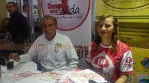 Xalapa, Ver., 19 de noviembre de 2018.- Presentación del Proyecto Integral de Donación de Sangre