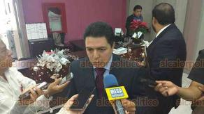 Xalapa, Ver., 12 de diciembre de 2018.- Arturo Nicolás Baltazar, abogado de la exdelegada de la Policía Ministerial en la zona centro, Carlota