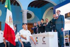 Coatepec, Ver., 15 de diciembre de 2018.- Primer Informe de Labores del alcalde Enrique Fernández Peredo, quien aseguró que logró eliminar el rezago social, económico, de infraestructura y atención ciudadana con el que se recibió la administración.
