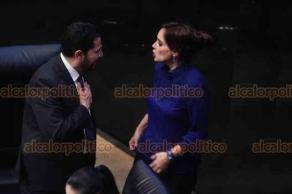 Ciudad de México, 16 de enero de 2019.- En el Senado debaten sobre los 10 perfiles más adecuados a Fiscal General de la República, que se enviarán al Ejecutivo.