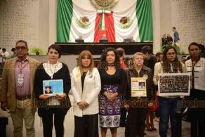 Xalapa, Ver., 17 de enero de 2019.- Toma de protesta a integrantes del Consejo Estatal Ciudadano, órgano del Mecanismo Estatal de Coordinación en Materia de Búsqueda de Personas.