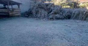 21 de enero de 2019.- En los municipios de Ayahualuco e Ixhuacán también se presentaron heladas la madrugada de este lunes.