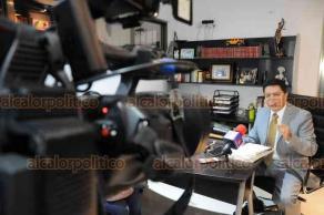 Xalapa, Ver., 22 de enero de 2019.- El abogado de Luis Ángel