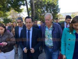 Xalapa, Ver., 22 de enero de 2019.- El gobernador Cuitláhuac García asistió a la