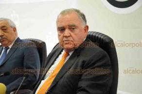 Xalapa, Ver., 22 de enero de 2019.- El magistrado presidente del Tribunal Superior de Justicia, Edel Álvarez Peña informó que tras varias reuniones con los magistrados, elaboran un plan de austeridad para bajarse los sueldos.