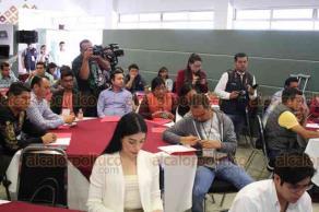 Xalapa, Ver., 15 de febrero de 2019.- Reunión de entidades municipales de juventud, en el Instituto Veracruzano de la Juventud.
