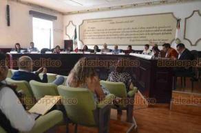 Xalapa, Ver., 15 de febrero de 2019.- En sesión extraordinaria de Cabildo, se discutió sobre el aumento de más de mil 600 millones de pesos al presupuesto 2019.